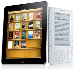 comparativo entre ipad e kindle